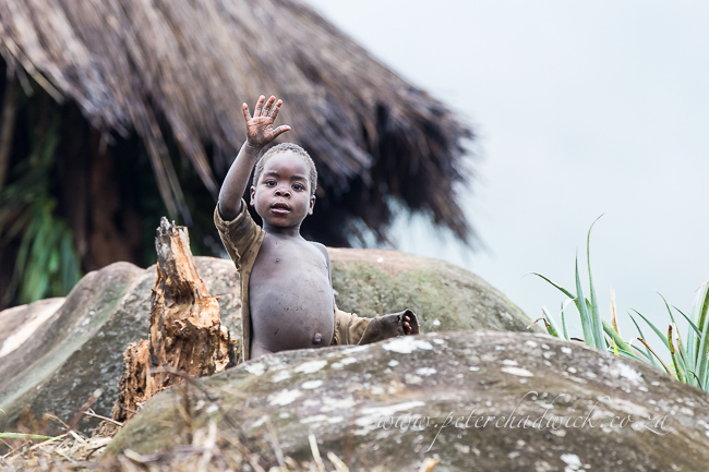 mozambican child by wildlife and conservation photographer Peter Chadwick