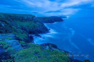 Wild coast dawn by wildlife and conservation photographer Peter Chadwick