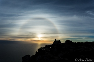 Table Mountain Halo Sunset   Landscape Photography   © Arne Purves