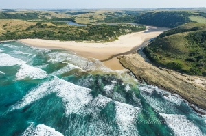 Wild Coast Estuary by wildlife and conservation photographer Peter Chadwick.