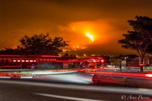 Cape Aflame | #Muizenbergfire | ©ArnePurves